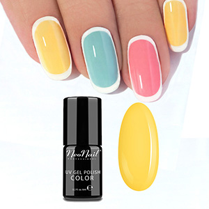 UV Gel Polish Color lakier hybrydowy 3201 Exotic Banana 6ml