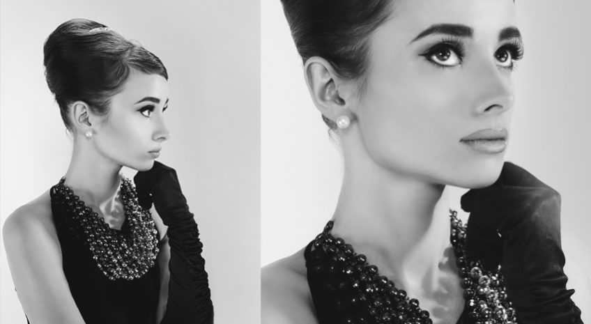 Audrey Hepburn make up